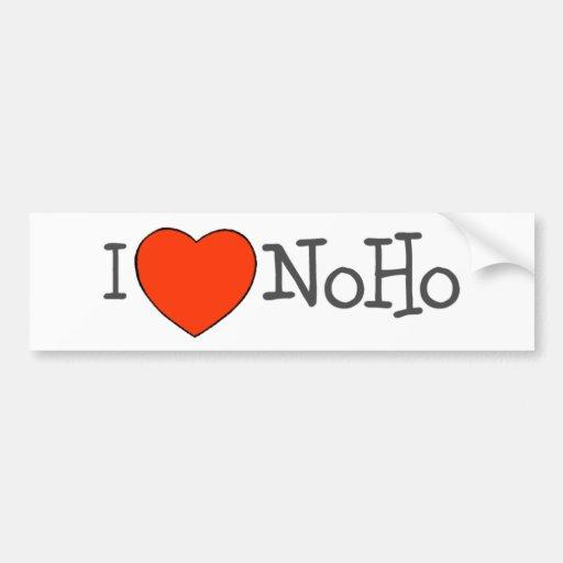 I Heart NoHo Car Bumper Sticker