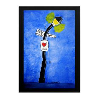 I Heart Nola Acrylic Print