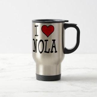 I Heart NOLA Travel Mug