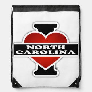 I Heart North Carolina Backpacks