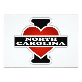 I Heart North Carolina Card