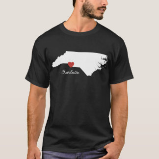 I Heart North Carolina - Customizable City T-Shirt