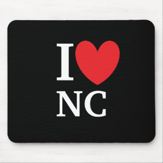 I Heart North Carolina Mousepad
