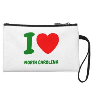 I HEART NORTH CAROLINA WRISTLETS
