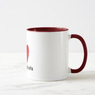 I Heart North Dakota Mug