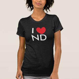 I Heart North Dakota T-shirt