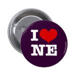 I Heart Northeast Minneapolis! 2 Inch Round Button