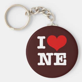 I Heart Northeast Minneapolis! Basic Round Button Keychain