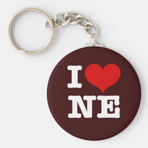 I Heart Northeast Minneapolis! Keychains