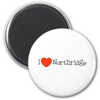 I Heart Northridge Magnet