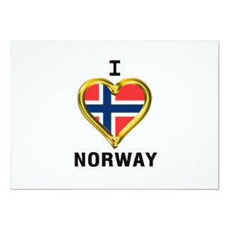 I HEART NORWAY CARD