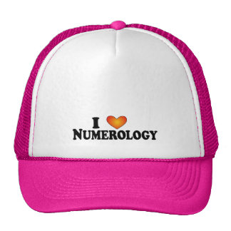 I (heart) Numerology - Lite Multi-Products Hat