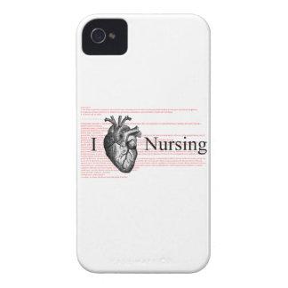 I Heart Nursing iPhone 4 Case-Mate Case