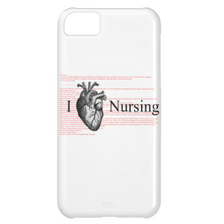 I Heart Nursing iPhone 5C Covers
