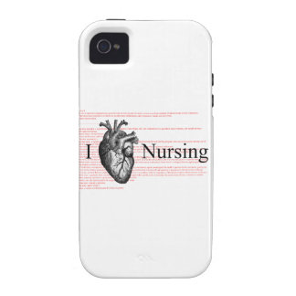 I Heart Nursing iPhone 4 Covers