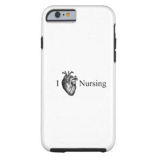 I Heart Nursing Tough iPhone 6 Case