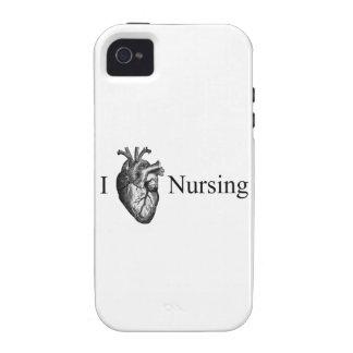 I Heart Nursing Vibe iPhone 4 Case