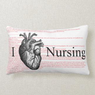I Heart Nursing Definition Lumbar Pillow
