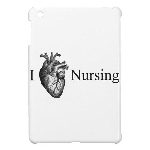I Heart Nursing iPad Mini Covers