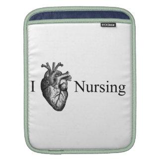 I Heart Nursing iPad Sleeves
