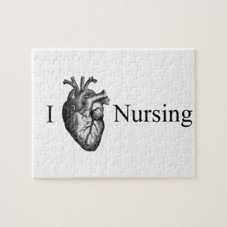 I Heart Nursing Jigsaw Puzzle