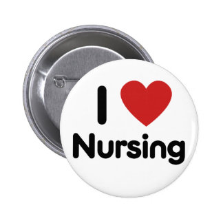 I heart Nursing Pinback Button