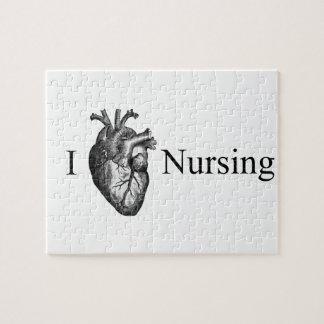 I Heart Nursing Puzzles