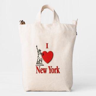 I Heart NY Duck Bag
