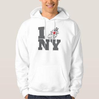 I Heart NY Hooded Pullovers