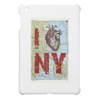 I heart Ny - I Love Ny - New York City Map Page Ba iPad Mini Cover