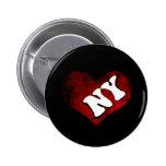 I Heart NY Pinback Button