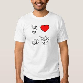 I HEART NY - white background Shirts