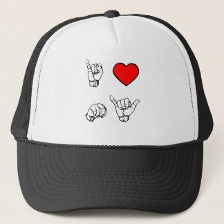 I HEART NY - white background Trucker Hat