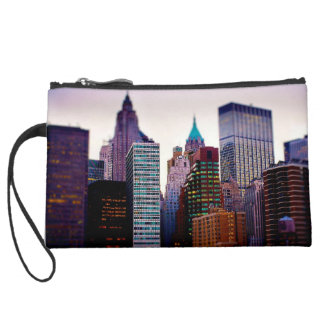 I Heart NYC 7 clutch Wristlet Purse