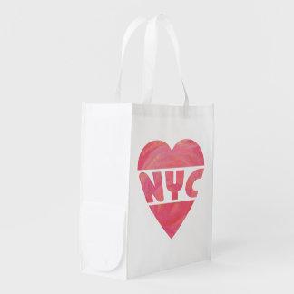 I Heart NYC Reusable Grocery Bag