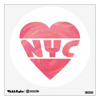 I Heart NYC Wall Sticker
