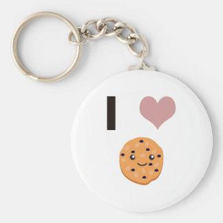 I heart Oatmeal Cookies Keychain