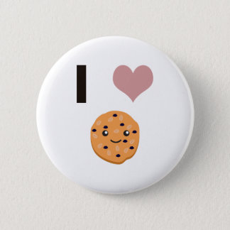 I heart Oatmeal Cookies Pinback Button