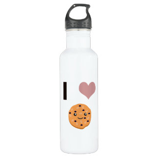 I heart Oatmeal Cookies Water Bottle