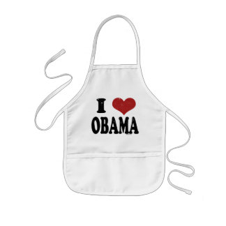I Heart Obama Kids' Apron