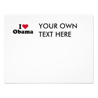 I Heart Obama T-shirt Invite