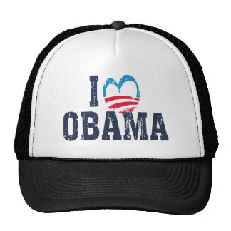 I Heart Obama Trucker Hat