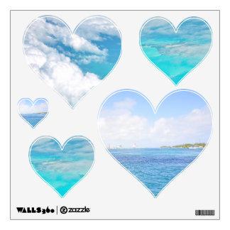 I Heart Ocean Wall Sticker