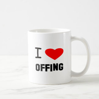 I Heart offing Classic White Coffee Mug
