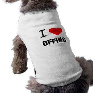 I Heart offing Pet Clothing