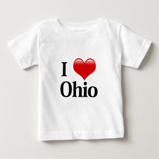 I Heart Ohio Baby T-Shirt