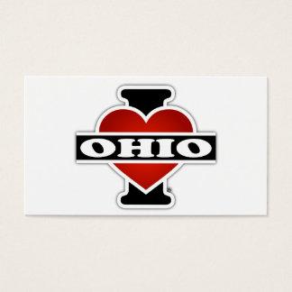 I Heart Ohio Business Card