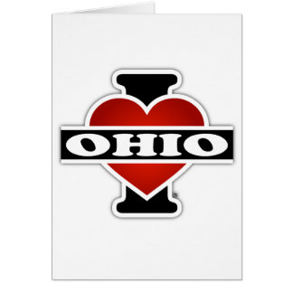 I Heart Ohio Card