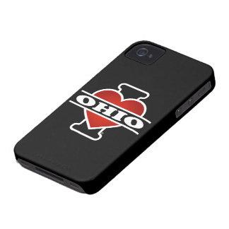 I Heart Ohio Case-Mate iPhone 4 Case