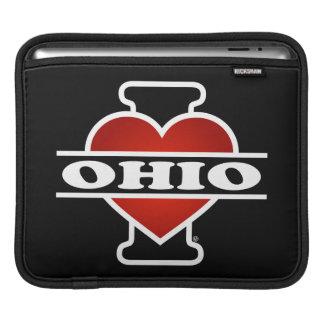 I Heart Ohio iPad Sleeves